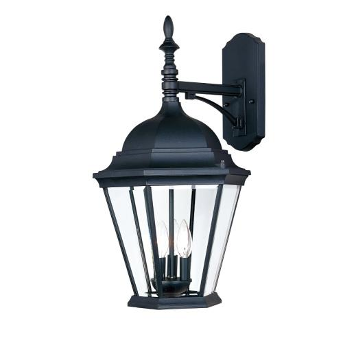 Maxim Lighting 1008BK Westlake - 3 Light Outdoor Wall Lantern