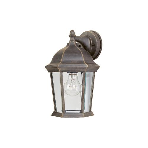 Maxim Lighting 1024RP Builder Cast - One Light Outdoor Wall Mount