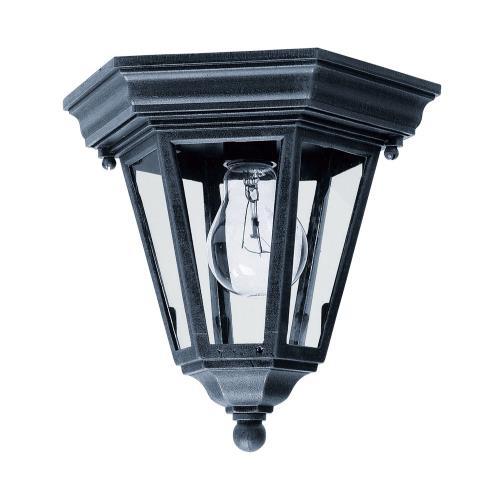 Maxim Lighting 1027BK Westlake - 1 Light Outdoor Flush Mount