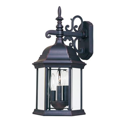 Maxim Lighting 1073 Builder Cast - Three Light Outdoor Wall Mount
