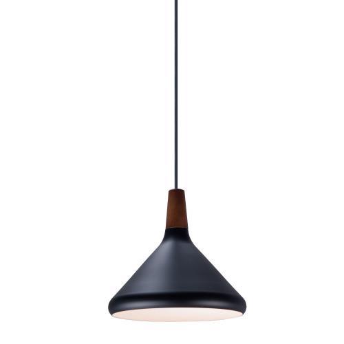 Maxim Lighting 11350WNB Nordic - 7 Inch One Light Pendant
