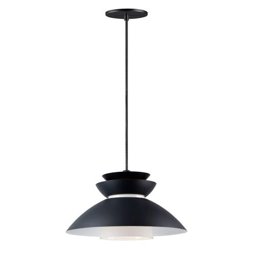 Maxim Lighting 11359WT Nordic - 1 Light Pendant - 14.25 Inches wide by 8 inches high