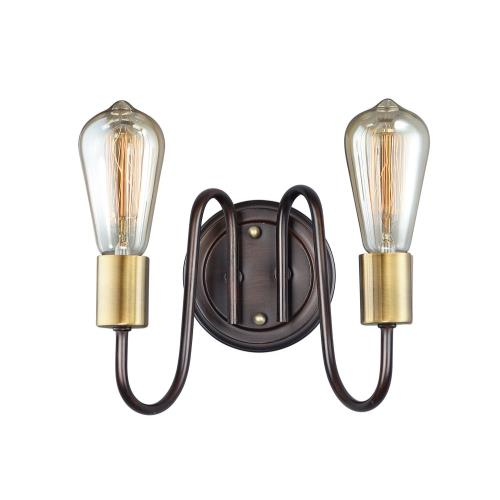 Maxim Lighting 11739 Haven-2 Light Wall Sconce in Classic style-9 Inches wide by 7 inches high