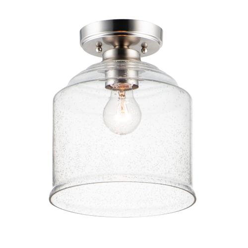 Maxim Lighting 12270 Acadia-1 Light Semi-Flush Mount-8.75 Inches wide by 10.5 inches high
