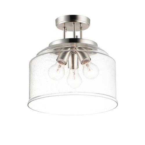 Maxim Lighting 12271 Acadia - 3 Light Semi- Flush Mount