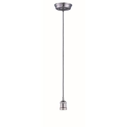 Maxim Lighting 25018SN Mini Hi-Bay - One Light Cord Hung Pendant