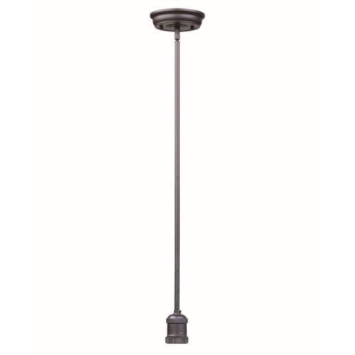 Maxim Lighting 25038BZ Mini Hi-Bay - One Light Stem Hung Pendant