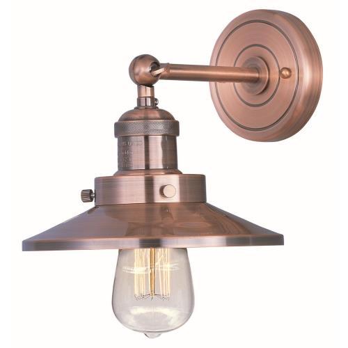 Maxim Lighting 25060ACP Mini Hi-Bay - One Light Wall Sconce