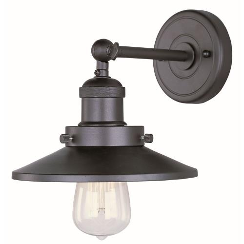 Maxim Lighting 25060BZ Mini Hi-Bay - One Light Wall Sconce