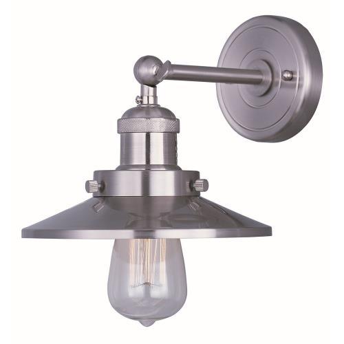 Maxim Lighting 25060SN Mini Hi-Bay - One Light Wall Sconce
