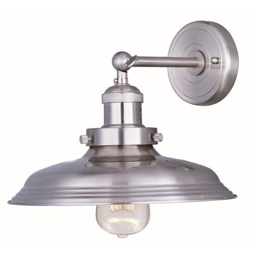 Maxim Lighting 25062SN Mini Hi-Bay - One Light Wall Sconce