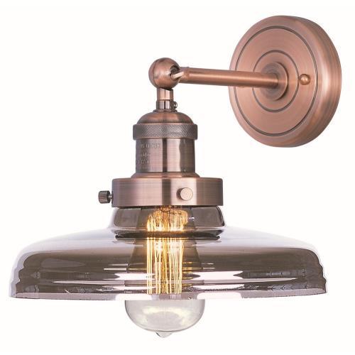 Maxim Lighting 25067MSKACP Mini Hi-Bay - One Light Wall Sconce