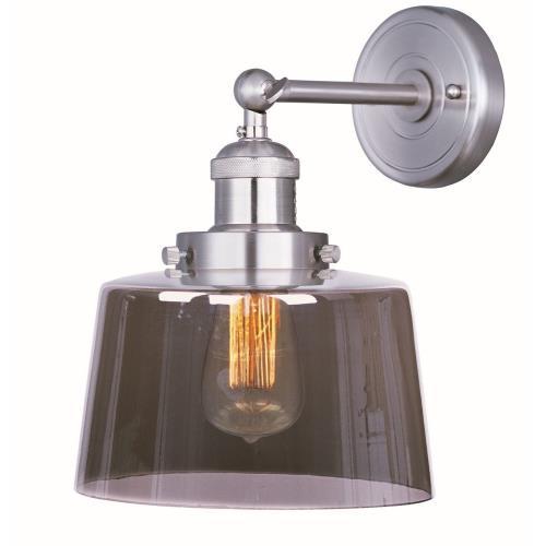 Maxim Lighting 25069MSKSN Mini Hi-Bay - One Light Wall Sconce