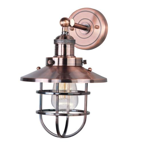 Maxim Lighting 25070A/BUI Mini Hi-Bay - 8 Inch One Light Wall Sconce with Bulb Included