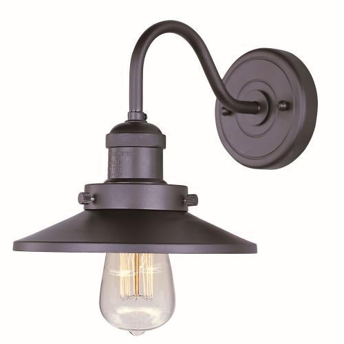 Maxim Lighting 25080BZ Mini Hi-Bay - One Light Wall Sconce