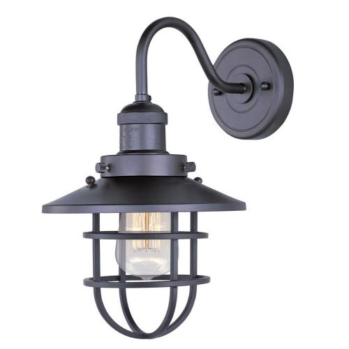 Maxim Lighting 25090/BUI 15.5 Inch Mini Hi-Bay - One Light Wall Sconce with Bulb Included
