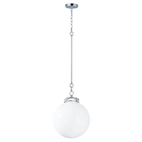Maxim Lighting 25182WTPN Retro - 14 Inch One Light Pendant