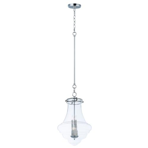 Maxim Lighting 25189CLPN Retro - Six Light Pendant