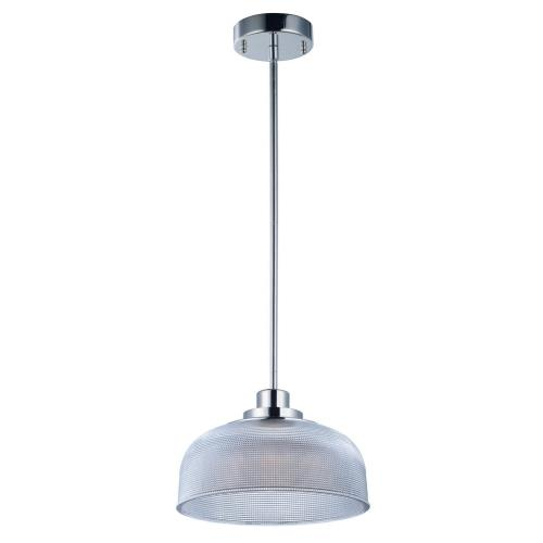 "Maxim Lighting 25195CLPN Retro - 10.5"" 8W 1 LED Pendant"