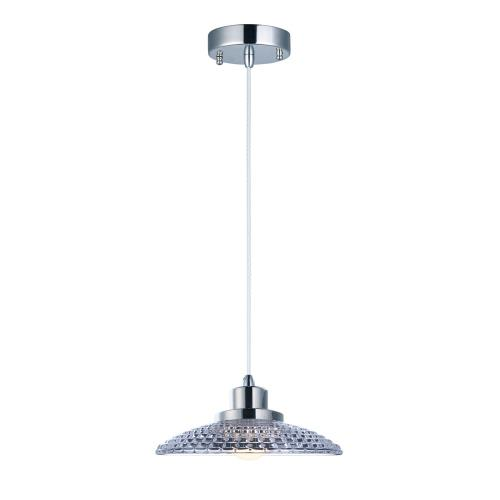 Maxim Lighting 25196CLPN Retro Pendant 1 Light