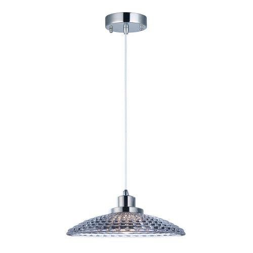 "Maxim Lighting 25197CLPN Retro - 9.75"" 8W 1 LED Pendant"