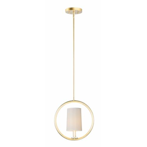 Maxim Lighting 25292 Meridian-1 Light Mini-Pendant-12.5 Inches wide by 13.75 inches high