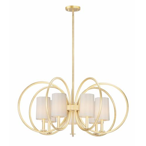 Maxim Lighting 25297 Meridian-7 Light Chandelier-35.5 Inches wide by 16.25 inches high