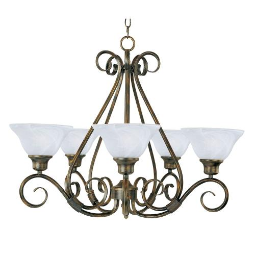 Maxim Lighting 2655 Pacific-5 Light Chandelier in Transitional style-29 Inches wide by 21.5 inches high