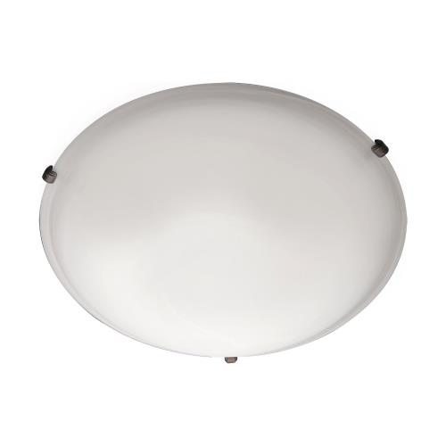 Maxim Lighting 2680FTOI Malaga-Two Light Flush Mount in Transitional style-12.5 Inches wide by 4 inches high