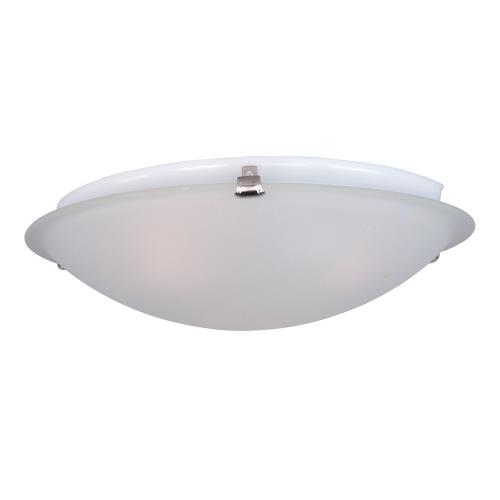Maxim Lighting 2680FTSN Malaga-Two Light Flush Mount in Transitional style-12.5 Inches wide by 4 inches high