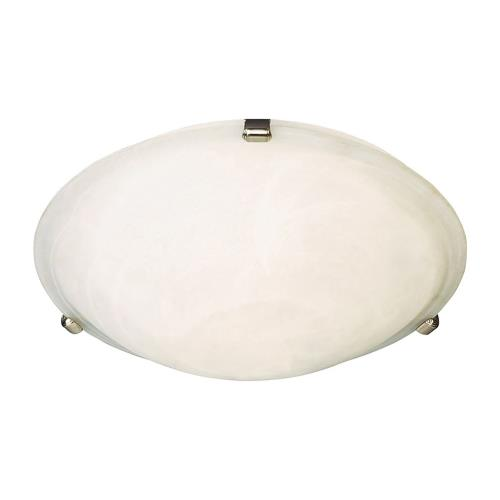 Maxim Lighting 2681 Malaga-3 Light Flush Mount in Transitional style-16 Inches wide by 4 inches high