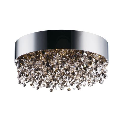 Maxim Lighting 39650MSKPC Mystic-33W 11 LED Flush Mount in Glam style-16 Inches wide by 6.25 inches high