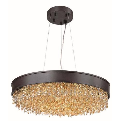 Maxim Lighting 39655SHBZ Mystic-Pendant 1 Light-24 Inches wide by 6.75 inches high