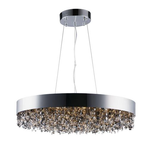 Maxim Lighting 39657MSKPC Mystic-66W 22 LED Pendant in Glam style-30 Inches wide by 6.75 inches high