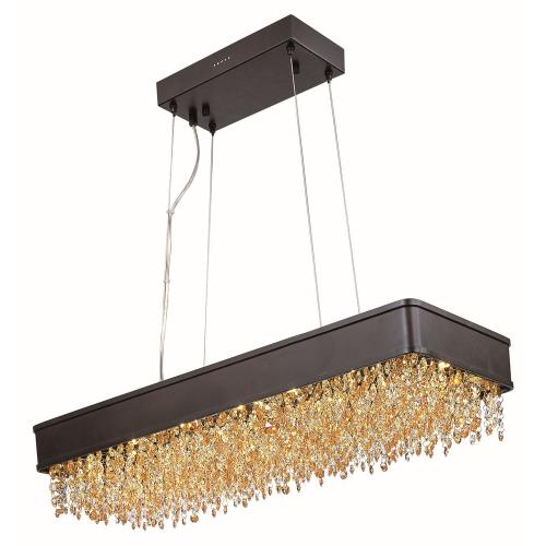 Maxim Lighting 39659SHBZ Mystic-61.6W 22 LED Chandelier-12 Inches wide by 6.75 inches high