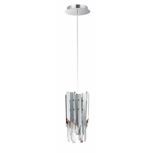 Maxim Lighting 40301BCPC Paramount-7W 1 LED Mini Pendant-6 Inches wide by 10.5 inches high