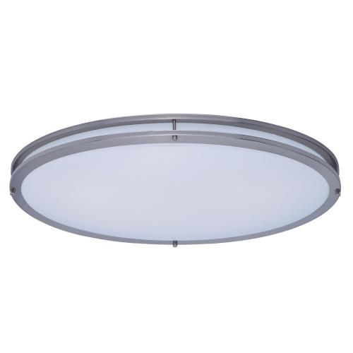 Maxim Lighting 55548WTSN Linear-35W LED Flush Mount-18 Inches wide by 4.5 inches high
