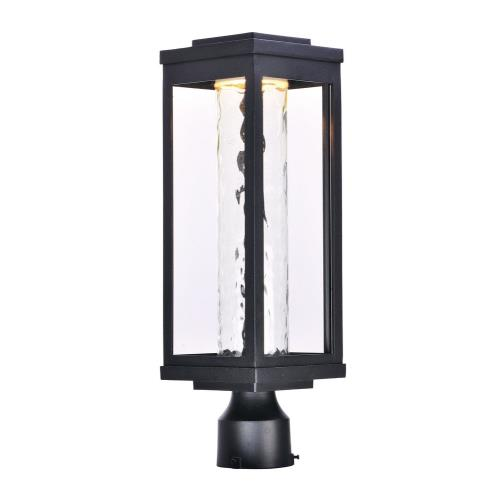 Maxim Lighting 55900 Salon-12W 1 LED Outdoor Post Mount-6 Inches wide by 19.5 inches high