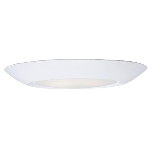 Maxim Lighting 57614WTWT Diverse - 7.5 Inch 13.5W 4000K 1 LED Flush Mount