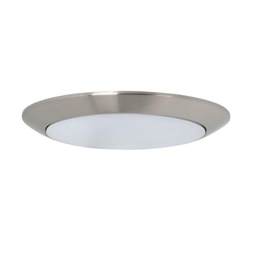 Maxim Lighting 57640WT Diverse-28W 1 LED Flush Mount in Commodity style-13 Inches wide by 0.75 inches high
