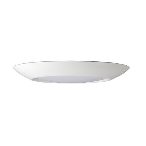 Maxim Lighting 57647WTWT Diverse - 7.5 Inch 15W 1 LED Flush Mount
