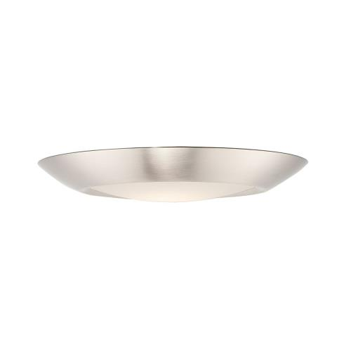Maxim Lighting 57652WT Diverse-12.5W 1 LED Flush Mount in Commodity style-7.5 Inches wide by 0.75 inches high