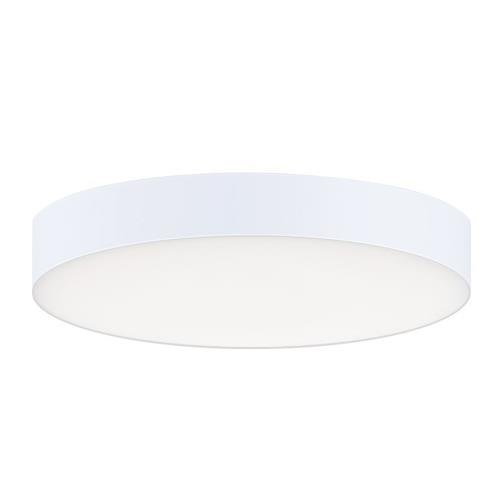 Maxim Lighting 57660WT Trim-12.5W 1 LED Flush Mount-5 Inches wide by 0.75 inches high