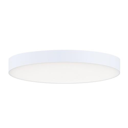 Maxim Lighting 57662WT Trim-15W 1 LED Flush Mount-7 Inches wide by 0.75 inches high