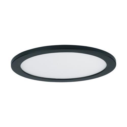 Maxim Lighting 57712WTBK Wafer - 7 Inch 15W 1 LED Round Wall/Flush Mount