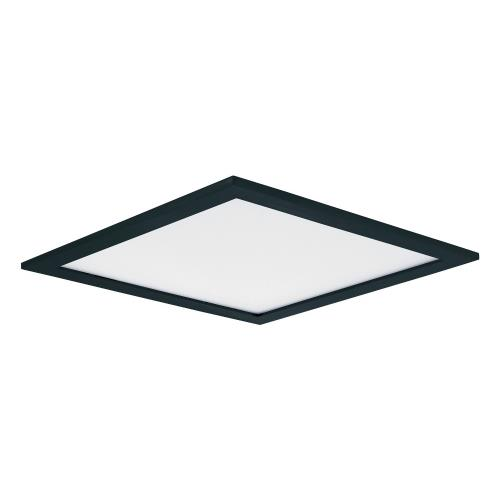 Maxim Lighting 57724WTBK Wafer-20W 1 LED Flush Mount in Contemporary style-9 Inches wide by 0.5 inches high