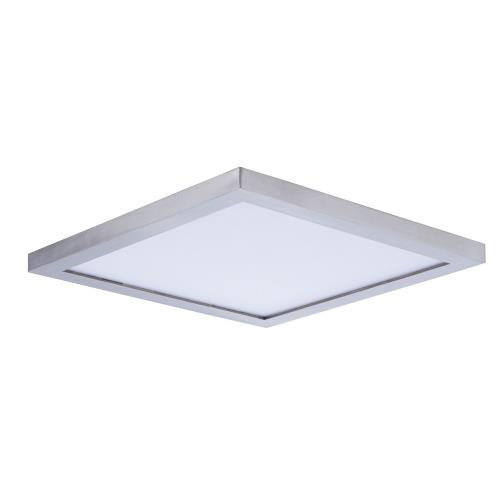 Maxim Lighting 57724 Wafer-20W 1 LED Flush Mount-9 Inches wide by 0.5 inches high