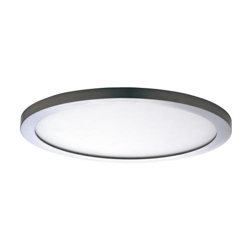 Maxim Lighting 57736WT Wafer - 15 Inch 36W 3000K 1 LED Round Flush Mount