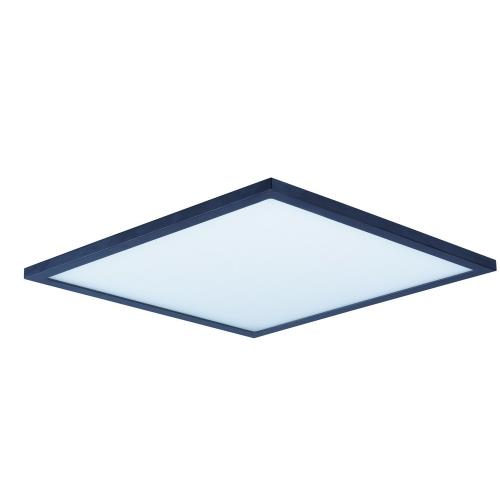 Maxim Lighting 57738WT Wafer-36W 3000K 1 LED Square Flush Mount-15 Inches wide by 0.5 inches high