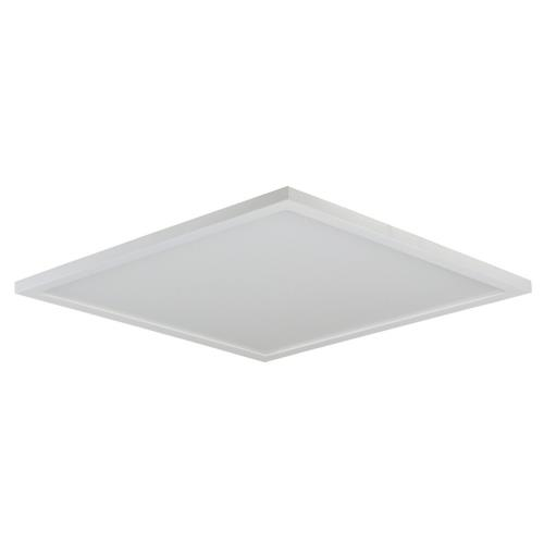 Maxim Lighting 57739WTWT Wafer - 15 Inch 36W 4000K 1 LED Square Flush Mount